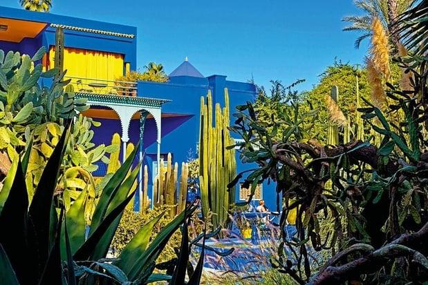 Sur les pas d'Yves Saint Laurent, à Marrakech
