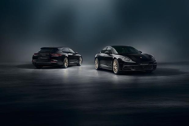 Une série spéciale anniversaire pour la Porsche Panamera