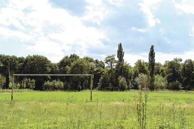 Terreinhoppers verlaten velden