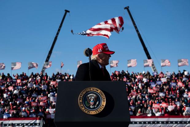 'Trump regeert niet voor de natie, maar voor zijn achterban en nog meer voor zichzelf'