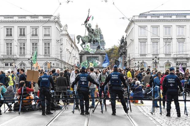 Extinction Rebellion veut manifester sur la Grand Place: Close privilégie la négociation