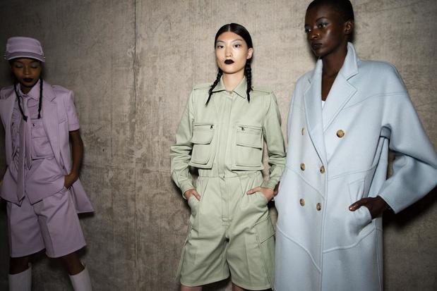 Milan Fashion Week > L'instantané du jour: l'été en pastel
