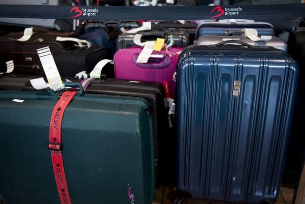 Helft van achtergebleven bagage op Brussels Airport intussen onderweg naar bestemming