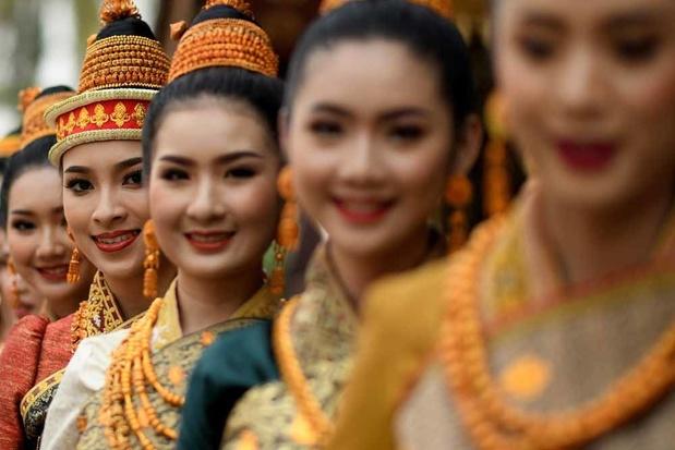 Les beautés bénies du Laos (en images)