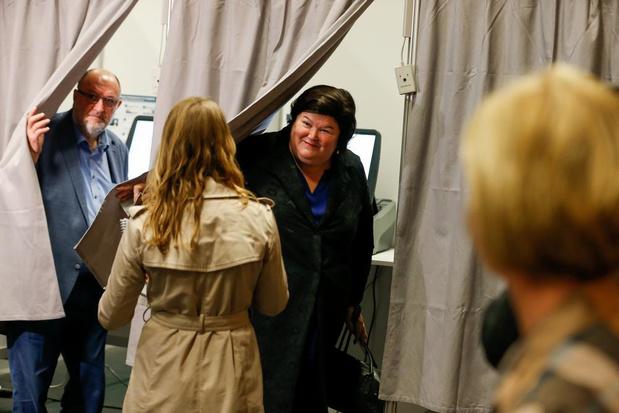 Chambre: Maggie De Block (Open Vld) perd 14% dans son canton d'Asse