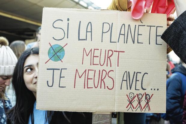 Trois Belges francophones sur quatre veulent poursuivre la mobilisation pour le climat