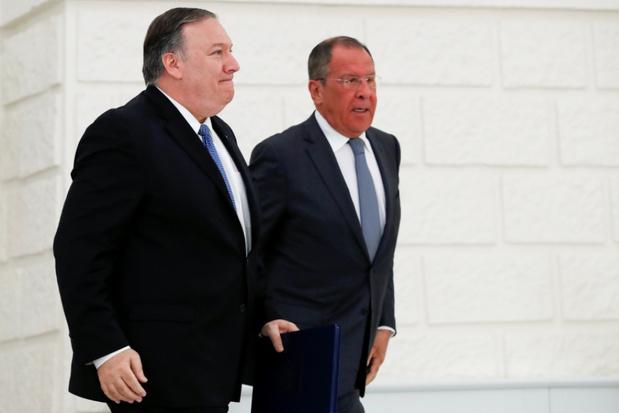 Pompeo ontmoet Lavrov vrijdag in New York