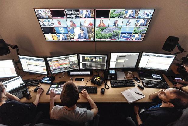 Dans les coulisses de LN24, la première chaîne belge d'information en continu
