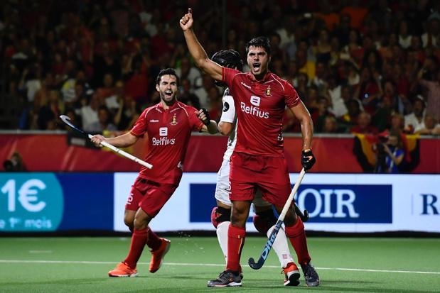 Red Lions schrijven geschiedenis tegen Spanje en pakken eerste Europese titel
