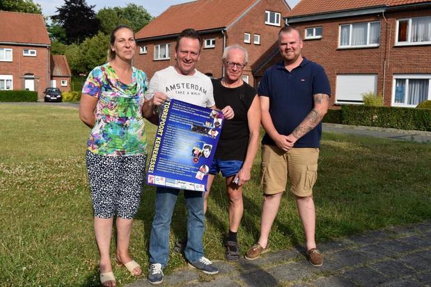 Torrepoortwijk in Ieper viert vier dagen feest