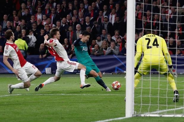 Tottenham houdt Ajax met doelpunt in slotseconden uit finale Champions League