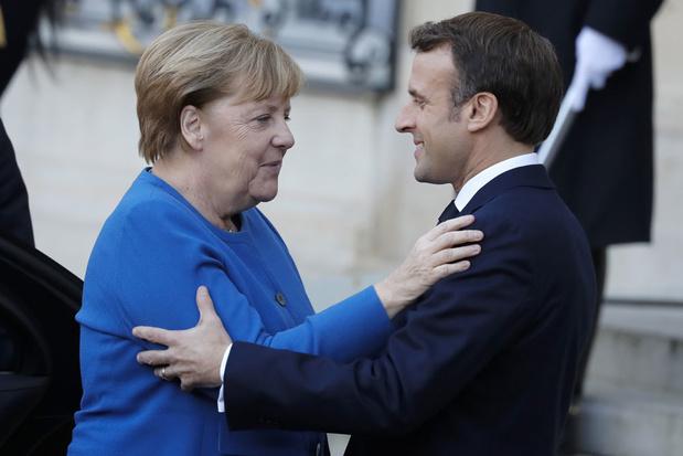 Frankrijk is even de motor van euroland