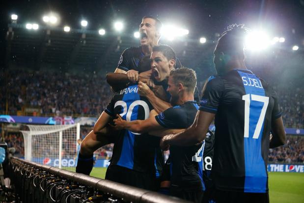 Club Brugge plaatst zich voor Champions League na 2-1 winst tegen Linz