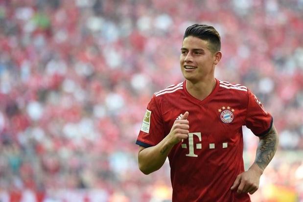 James va devoir quitter le Bayern