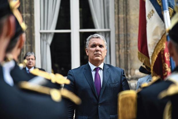 """Pour le président colombien Ivan Duque, """"Nicolas Maduro doit être arrêté et jugé"""""""