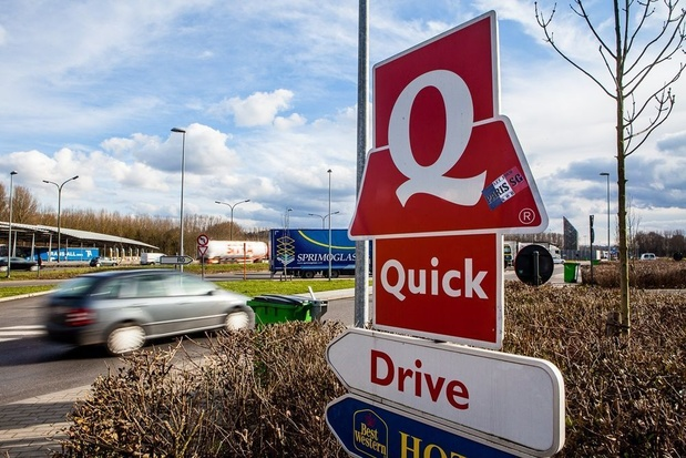 Franse Quick-restaurants verkocht aan Amerikaanse investeerder