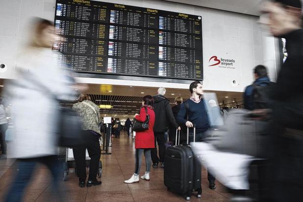 Brussels Airport: la grève du secteur du gardiennage entraîne des retards aux contrôles de sécurité