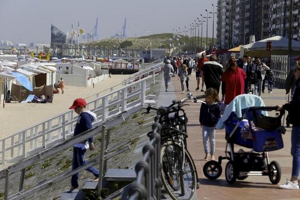 Kust verwacht 350.000 dagtoeristen tijdens het verlengd weekend