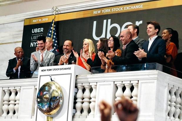 Uber flopt bij beursgang