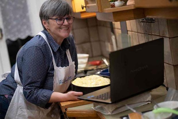 Ces grands-mères qui révèlent leurs secrets culinaires via Zoom