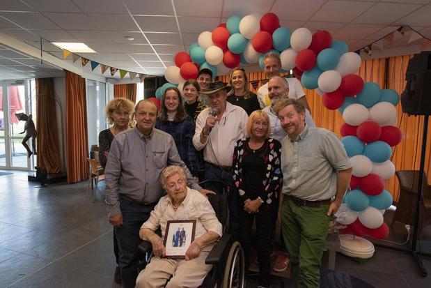 Blanche Mahieu viert 100ste verjaardag
