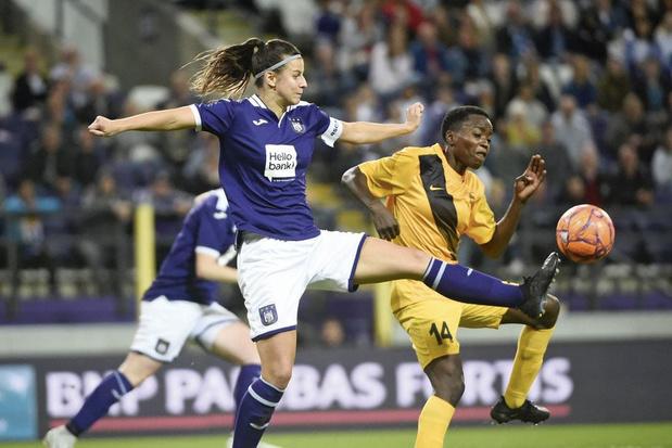 De vrouwen van RSC Anderlecht geven het voorbeeld: 'Het is een mirakel waar we nu staan'