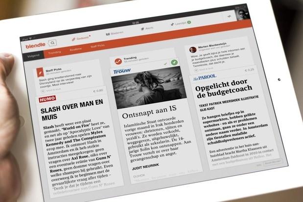 Onlinekiosk Blendle stopt met de verkoop van losse artikels