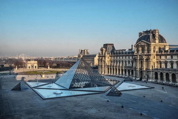 Op cruise met het Louvre