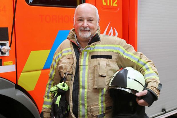 Wilfried Dedeyne neemt na 32 jaar afscheid van de Torhoutse brandweer