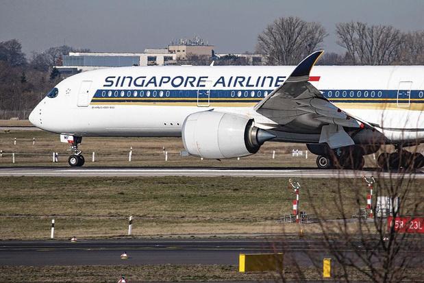 Singapore Airlines de retour à Bruxelles