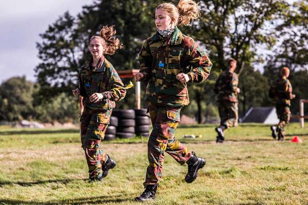 La princesse Elisabeth en camp à Elsenborn: une élève officier comme les autres