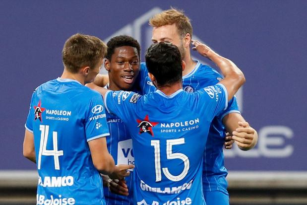 AA Gent beslist partij tegen Cercle Brugge al voor de pauze