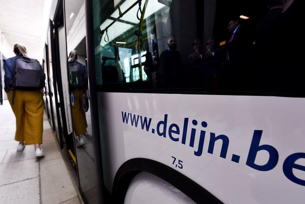 De Lijn haalt meer inkomsten uit vervoerbewijzen
