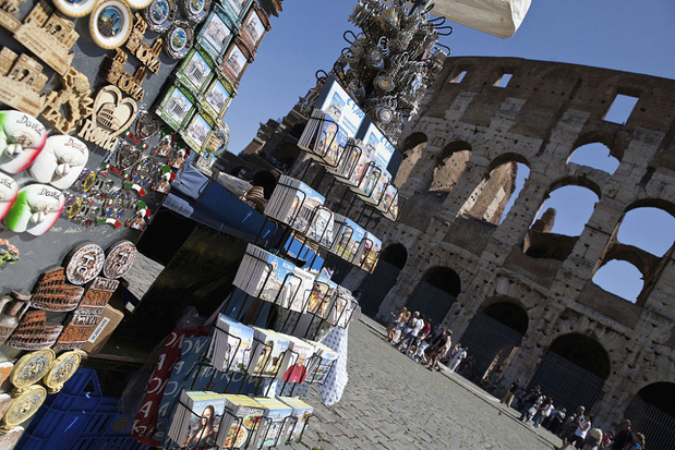 Rome verbiedt souvenirkraampjes bij bekende monumenten