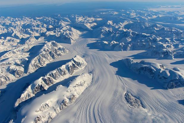 Groenland: ijs smelt zeven keer sneller dan in 1990