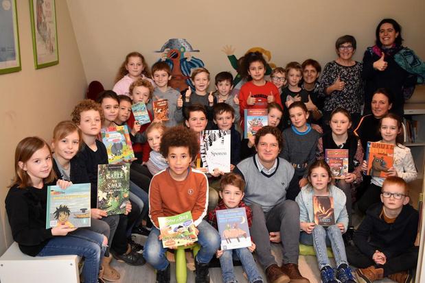 Sint-Jozefsschool Ieper is winnaar van Grote Voorleesdag