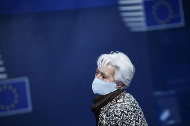 ECB-voorzitter Lagarde houdt vast aan economische prognoses (video)
