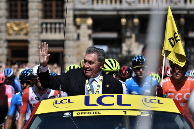 'Eddy Merckx verenigde het land weer, net zoals de Rode Duivels dat vorige zomer deden'