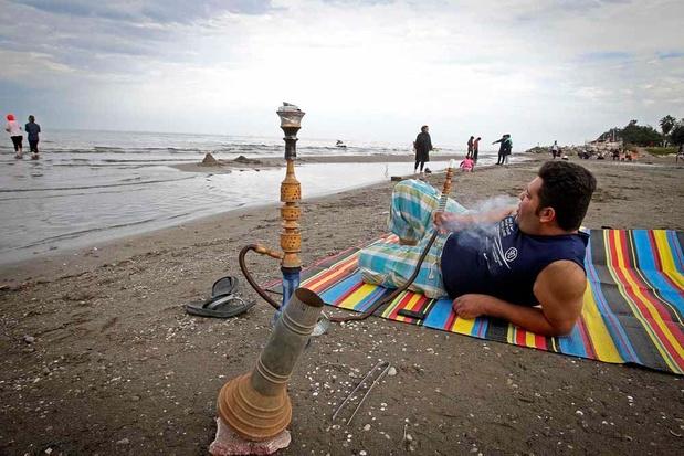 La mer Caspienne s'englue dans la pollution (en images)