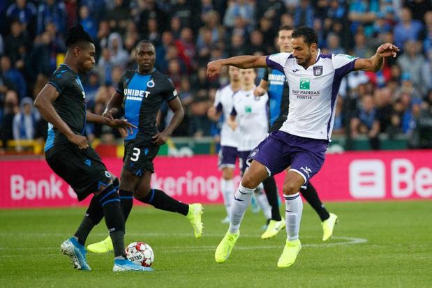 RSC Anderlecht - Club Brugge dé affiche van kwartfinales Croky Cup; speeldata ook bekend