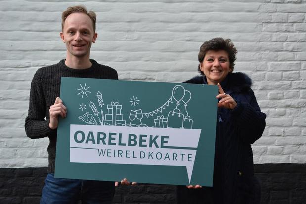 Harelbeke pakt uit met 'Oarelbeke Weireldkoarte', een eigen betaal- en cadeaukaart