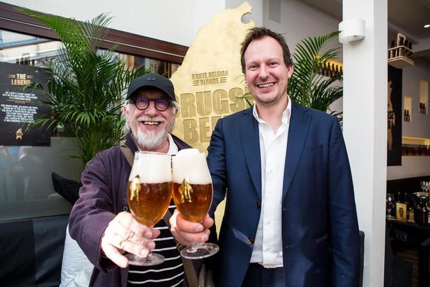 Biertjes van 'Brugse Beer' voorgesteld in aanwezigheid van Jean Blaute