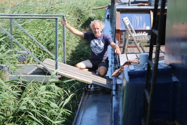 Boten van vzw De Boot kunnen niet uitvaren door laag waterpeil IJzer