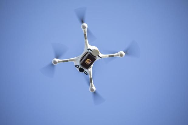 Des drones dans les hôpitaux anversois dès septembre