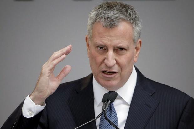 Ook Bill de Blasio, burgemeester van New York, wil president worden