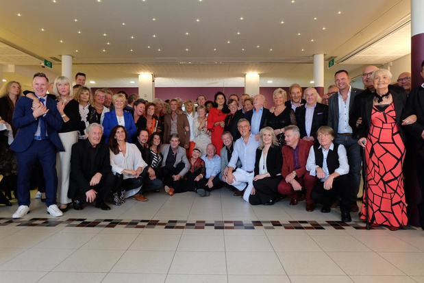 Artiesten houden reünie in hotel Royal Astrid in Oostende