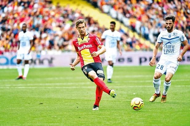"""Guillaume Gillet, """"le coeur brisé"""", ne continuera pas avec Lens en Ligue 1"""