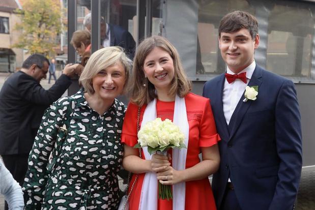 Zoon van Vlaams minister Hilde Crevits getrouwd
