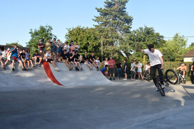 Skatepark op 't Pleintje in Kooigem geopend