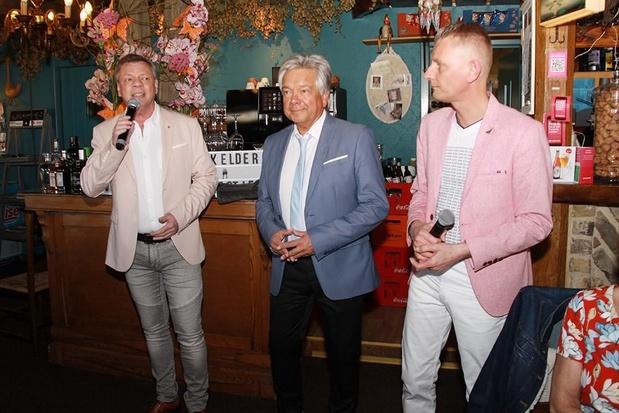 Paul Bruna, Kurt Crabbé en Frank Valentino houden eerbetoon voor Paul Severs in De Kippe